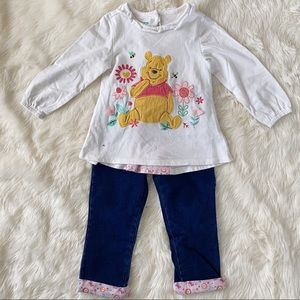 DISNEY Baby Winnie the Pooh Outfit